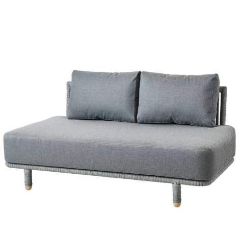 Cane-line Moments Outdoor Modulsofa, 2-Sitzer