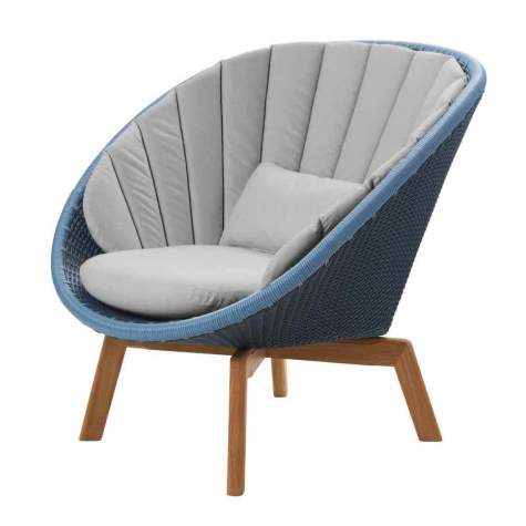 Cane-line Peacock Outdoor Lounge Sessel