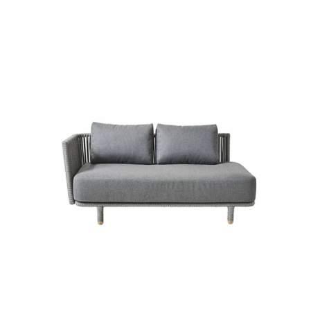 Cane-line Moments, 2-Sitzer Sofa, rechts