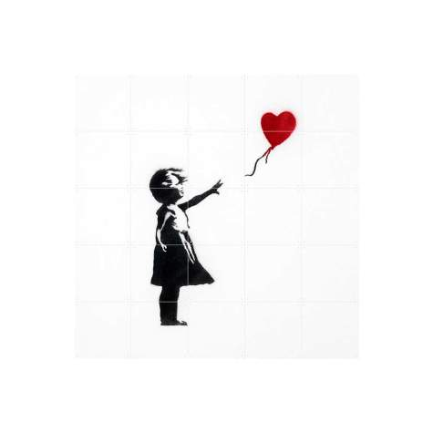 IXXI - Banksy Girl with Balloon Wanddekoration