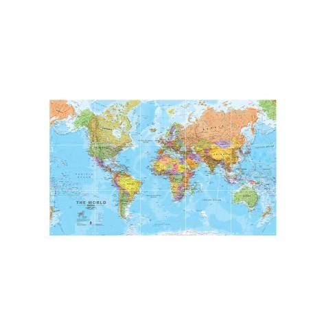 IXXI - Weltkarte Wanddekoration