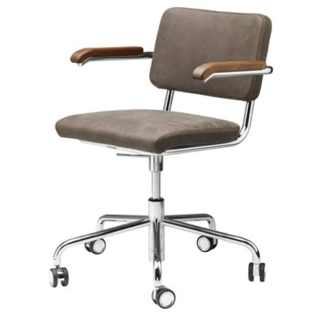 Thonet S 64 PVDR Pure Materials Drehstuhl