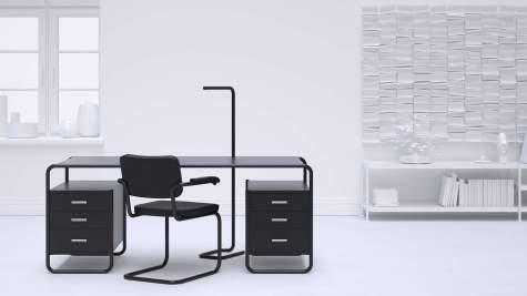 thonetshop thonet s 285 5 schreibtisch. Black Bedroom Furniture Sets. Home Design Ideas