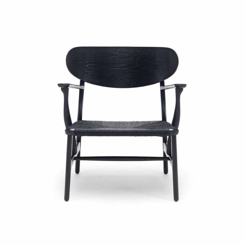 felix thonet shop carl hansen ch22 lounge stuhl. Black Bedroom Furniture Sets. Home Design Ideas