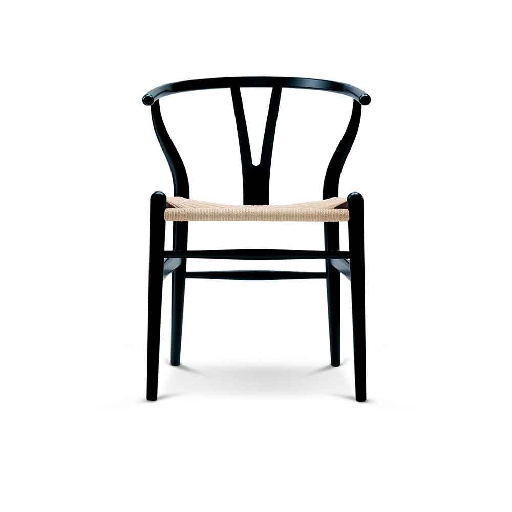 thonetshop carl hansen ch24 wishbone stuhl buche schwarz. Black Bedroom Furniture Sets. Home Design Ideas