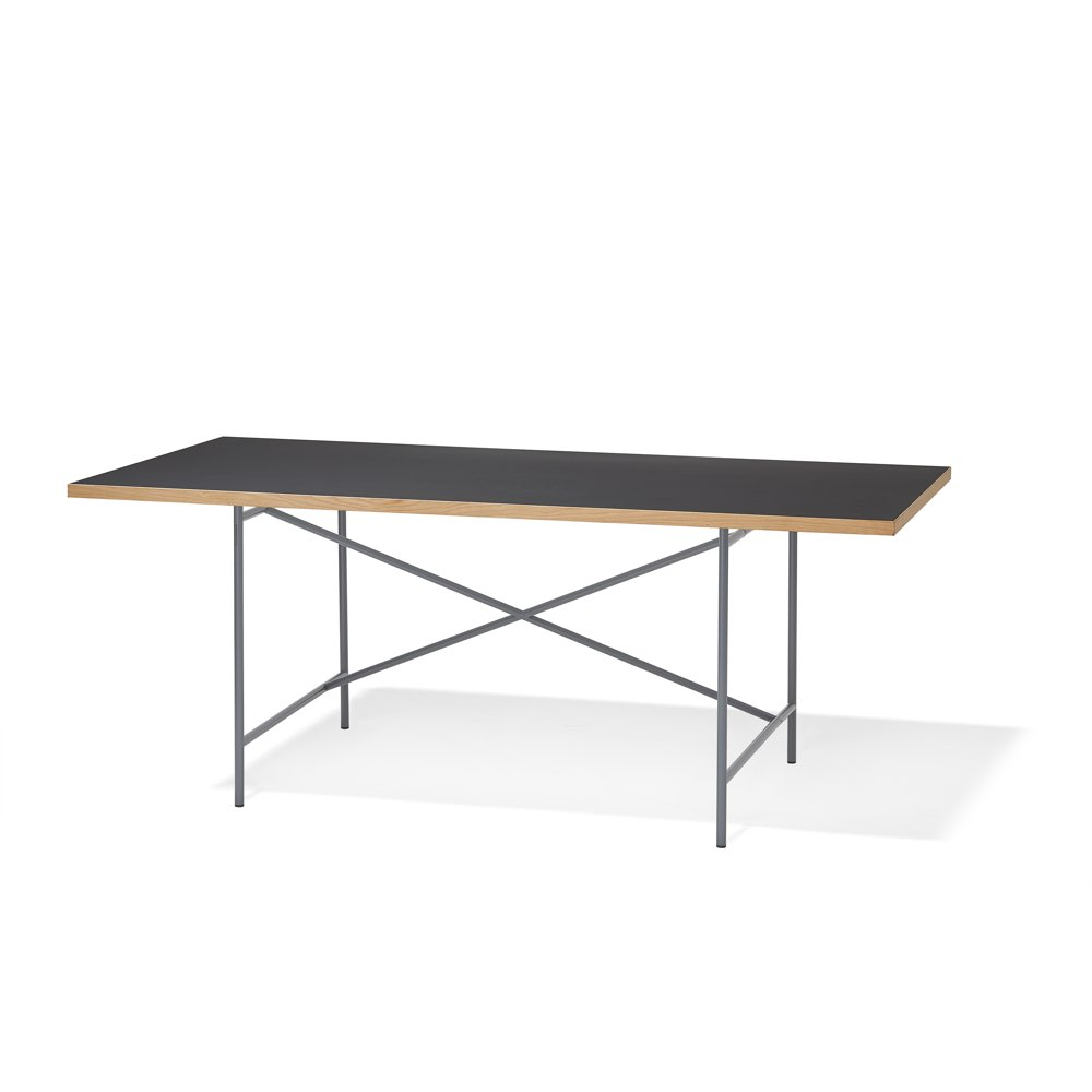Thonetshop richard lampert tisch eiermann for Linoleum schwarz