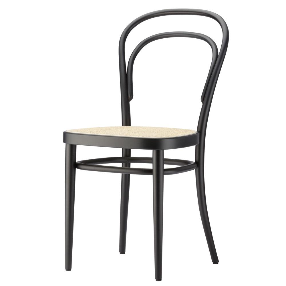 Thonet 214 Stuhl TP29 schwarz gebeizt