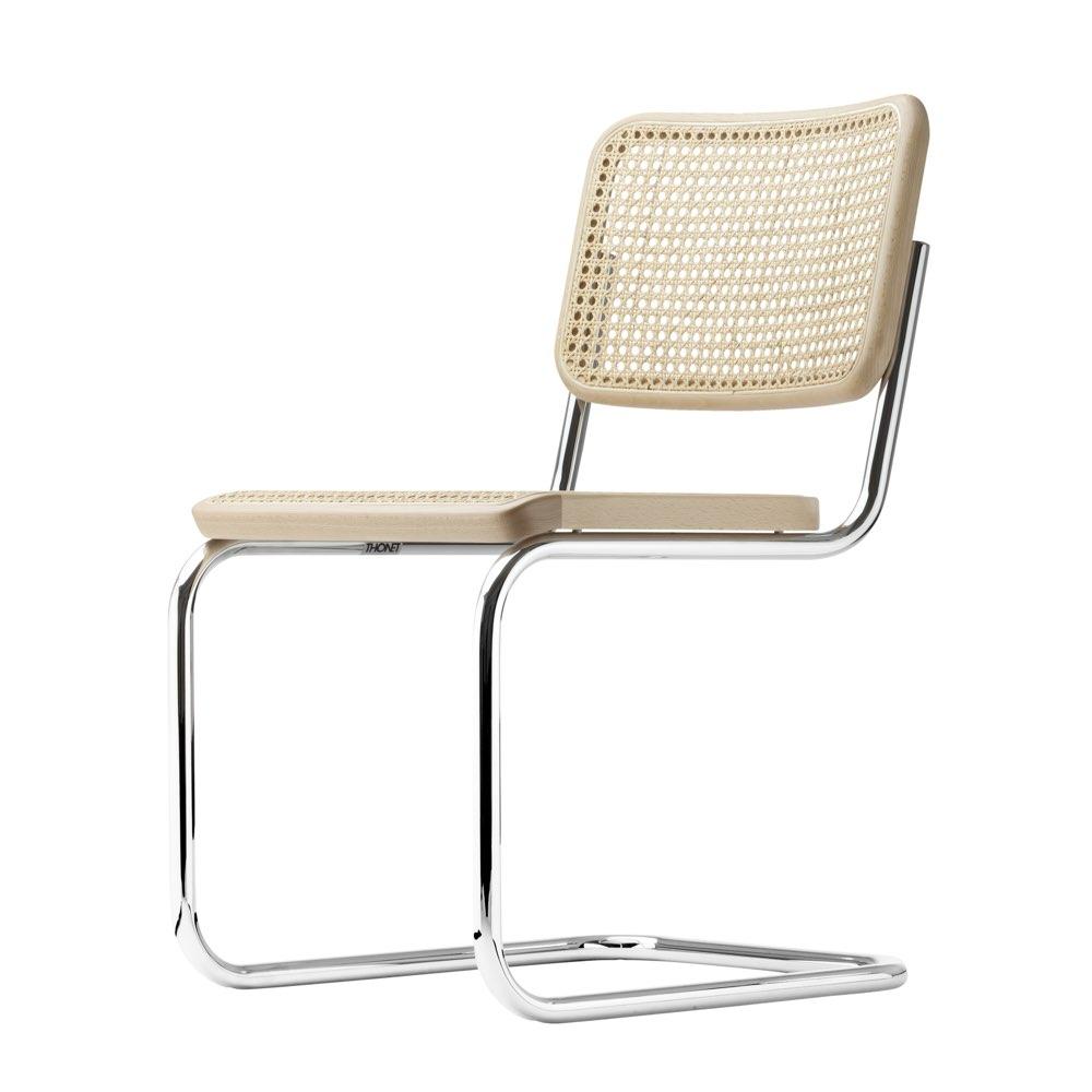 felix thonet shop thonet s 32 stuhl freischwinger tp17 natur gebeizt. Black Bedroom Furniture Sets. Home Design Ideas