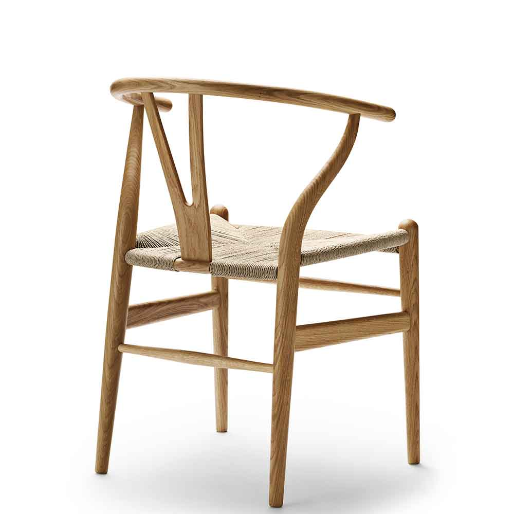 thonetshop carl hansen ch24 wishbone stuhl eiche l. Black Bedroom Furniture Sets. Home Design Ideas