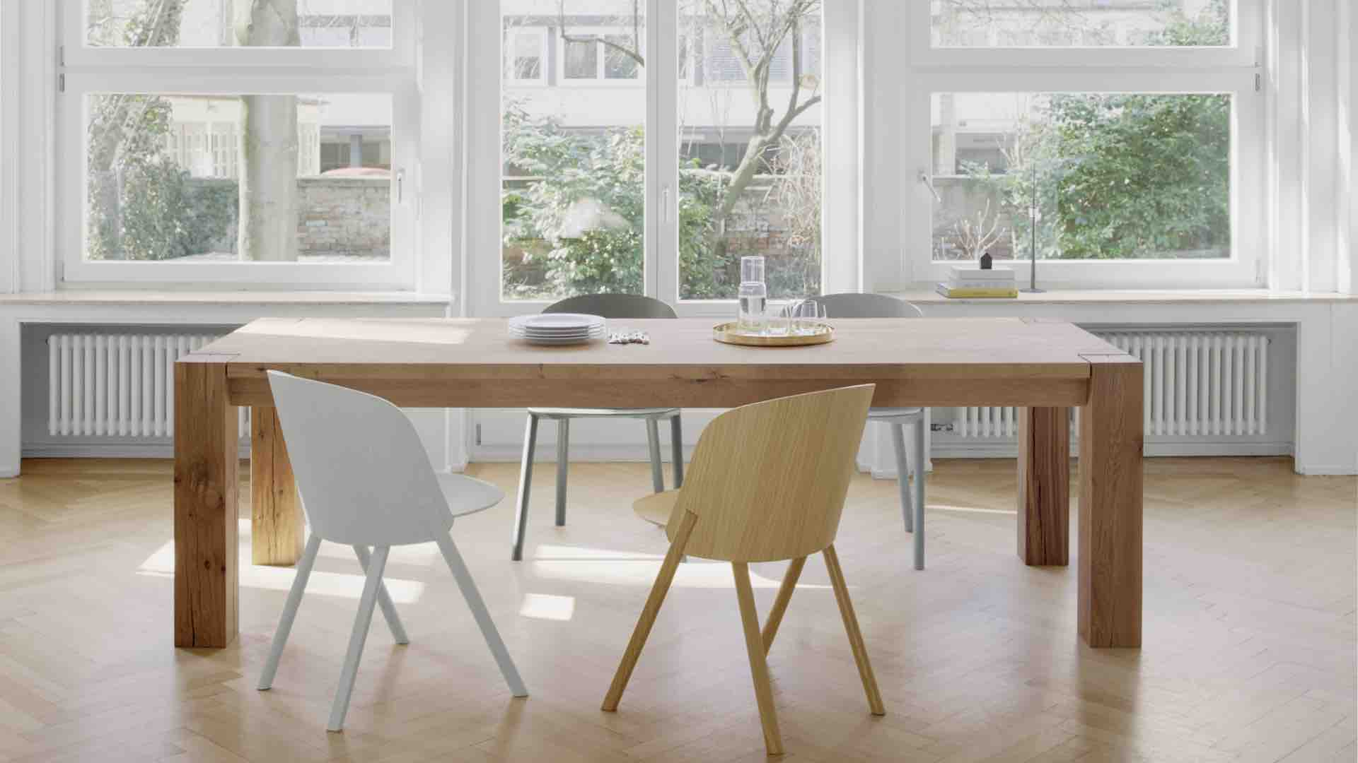 felix thonet shop e15 bigfoot tisch. Black Bedroom Furniture Sets. Home Design Ideas