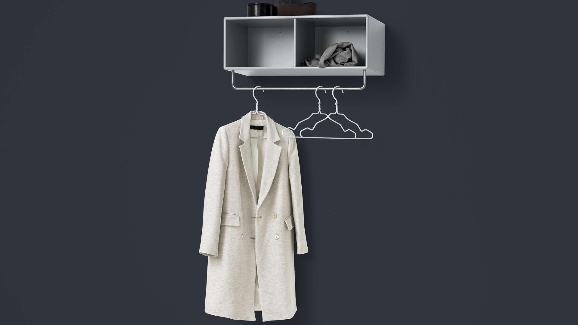 thonetshop montana coat regal mit kleiderstange. Black Bedroom Furniture Sets. Home Design Ideas