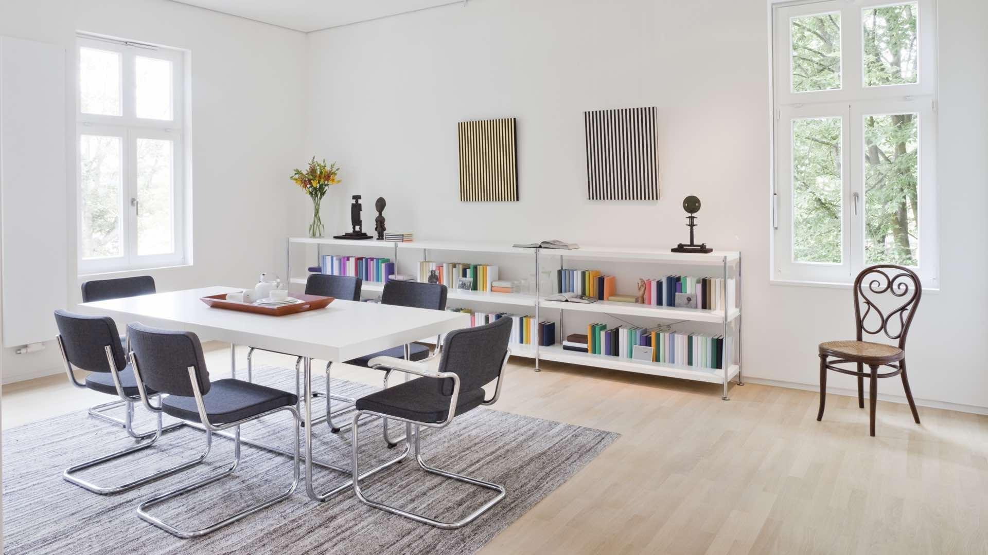thonetshop thonet s 32 pv stuhl freischwinger. Black Bedroom Furniture Sets. Home Design Ideas