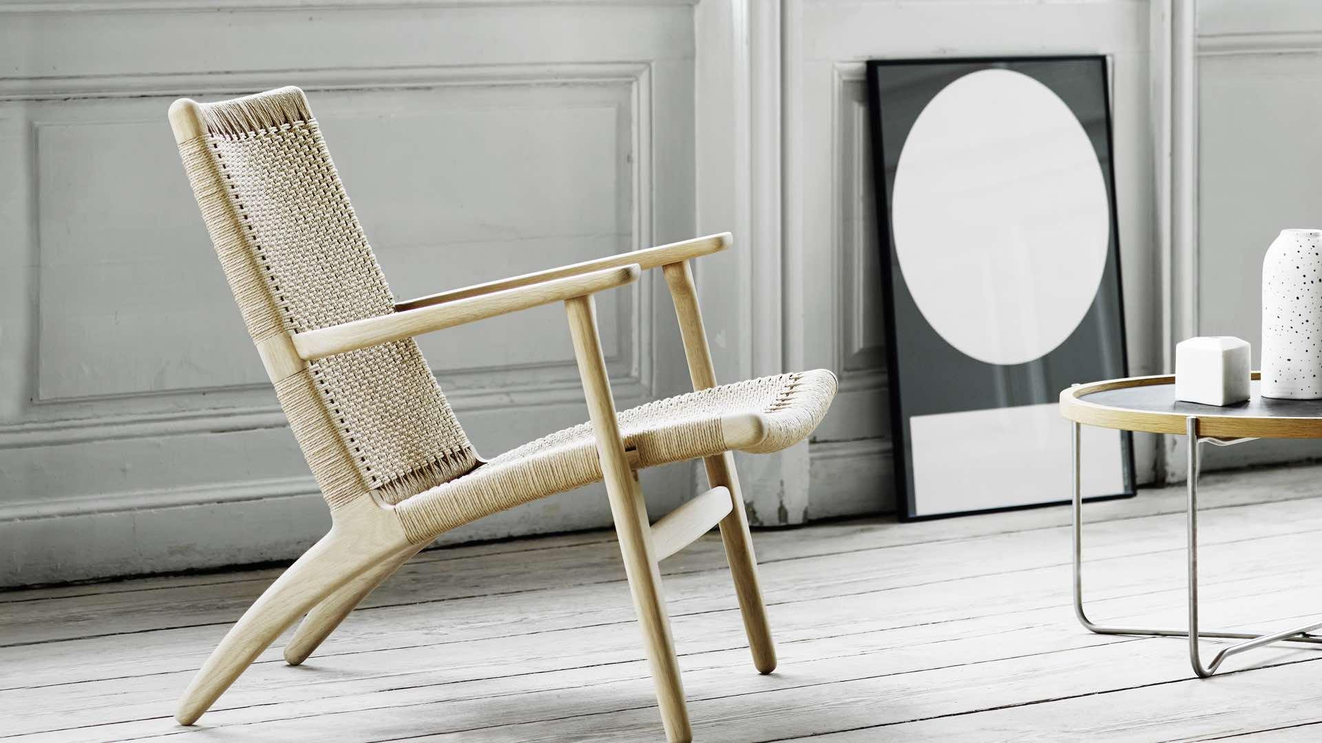 felix thonet shop carl hansen ch25 lounge sessel. Black Bedroom Furniture Sets. Home Design Ideas