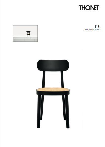 Thonet 118 Factsheet