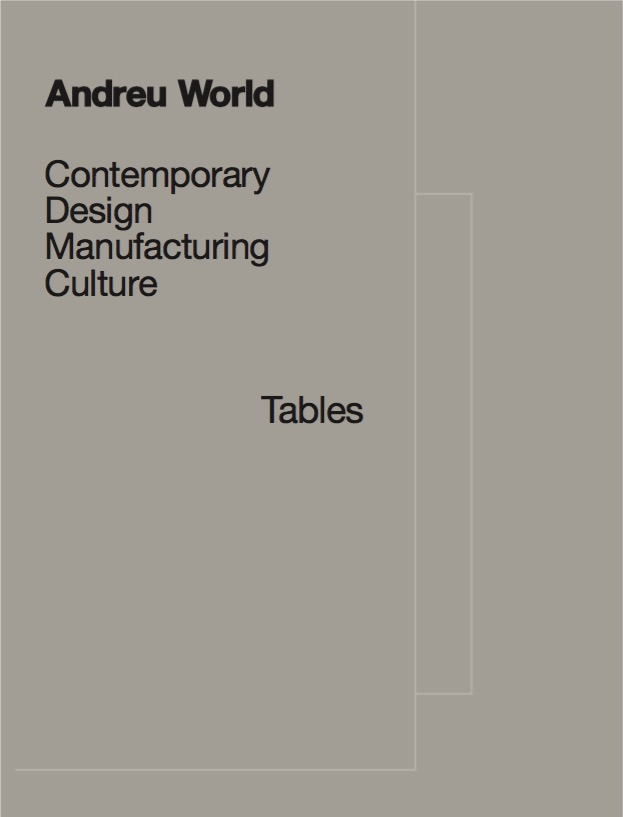 Andreu World Table Catalogue