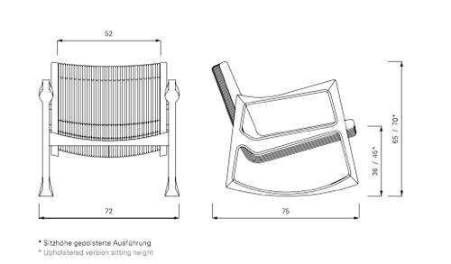 Euvira Rocking Chair